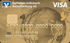 """Visa Karte, Motiv """"Gold"""""""