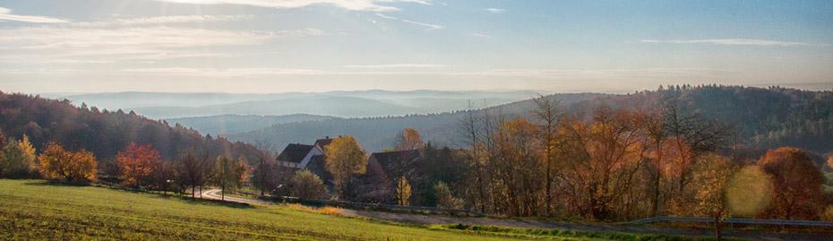 Wintermotiv Breunsberg Richtung Hösbach