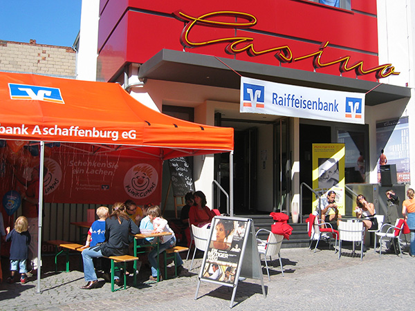 Partnerschaft Casino Aschaffenburg und Raiffeisen-Volksbank Aschaffenburg eG