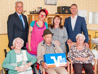 Partnerschaft KlinikClowns und Raiffeisenbank Aschaffenburg