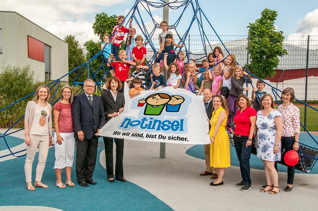 Partnerschaft Notinsel und Raiffeisenbank Aschaffenburg