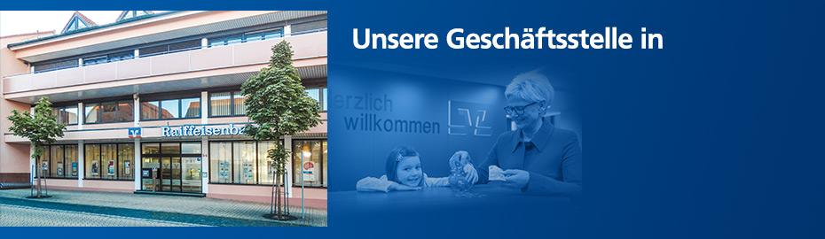 Geschäftsstelle Großostheim – Raiffeisen-Volksbank Aschaffenburg eG