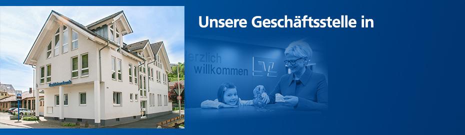 Geschäftsstelle Leidersbach - Raiffeisenbank Aschaffenburg eG