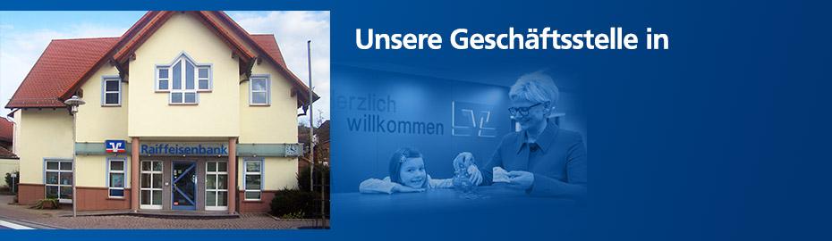 Geschäftsstelle Sailauf – Raiffeisen-Volksbank Aschaffenburg eG