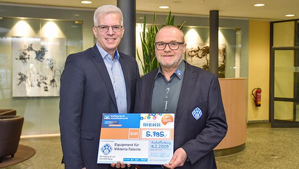 Raiffeisenbank Aschaffenburg eG überreicht Spende in Höhe von 5.785 Euro