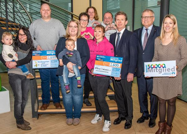 Raiffeisenbank Aschaffenburg eG begrüßt 50.000. Mitglied