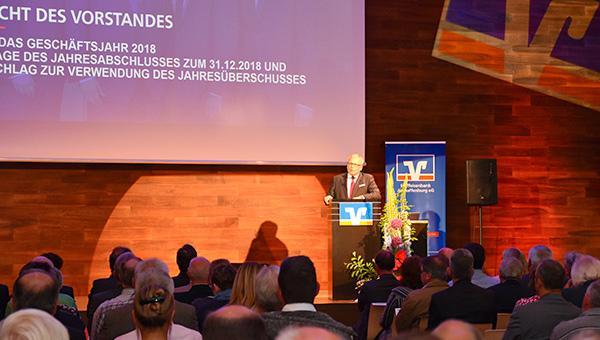 Vertreterversammlung der Raiffeisenbank Aschaffenburg eG